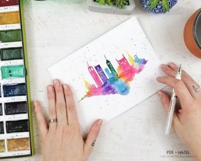 33 + Most Popular Ways To Watercolor Paintings Easy Step By Step Flower 82