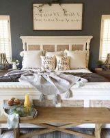50+ Unbelievable Master Bedroom Ideas Rustic Farmhouse Style Decor 10