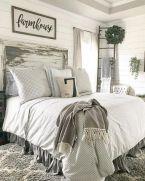 50+ Unbelievable Master Bedroom Ideas Rustic Farmhouse Style Decor 20
