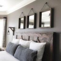 50+ Unbelievable Master Bedroom Ideas Rustic Farmhouse Style Decor 25