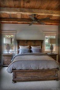 50+ Unbelievable Master Bedroom Ideas Rustic Farmhouse Style Decor 51