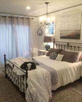 50+ Unbelievable Master Bedroom Ideas Rustic Farmhouse Style Decor 66
