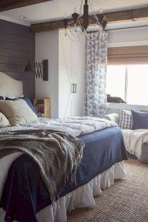 50+ Unbelievable Master Bedroom Ideas Rustic Farmhouse Style Decor 67