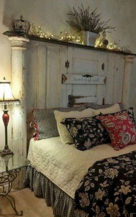 50+ Unbelievable Master Bedroom Ideas Rustic Farmhouse Style Decor 70