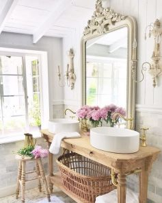 The Secret To French Country Bathroom 117