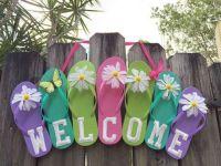 The War Against Welcome Sign Front Door 196