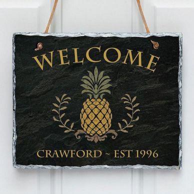 The War Against Welcome Sign Front Door 211