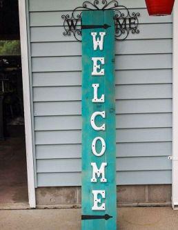 The War Against Welcome Sign Front Door 268