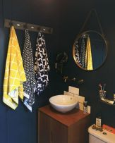35+ The Appeal Of Yellow Bathroom Decor 217