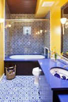 35+ The Appeal Of Yellow Bathroom Decor 248