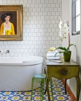 35+ The Appeal Of Yellow Bathroom Decor 318