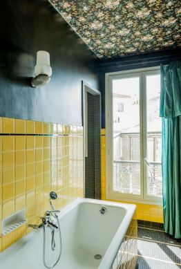 35+ The Appeal Of Yellow Bathroom Decor 340