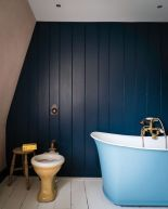 35+ The Appeal Of Yellow Bathroom Decor 42