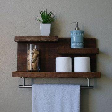 36+ Floating Shelves For Bathroom Reviews & Guide 162