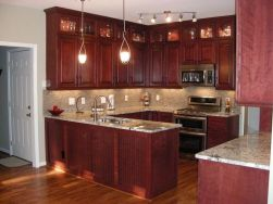 40+ Cherry Wood Kitchen Cabinets Options 166