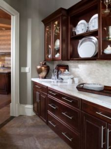 40+ Cherry Wood Kitchen Cabinets Options 187
