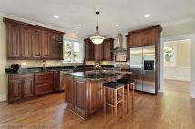 40+ Cherry Wood Kitchen Cabinets Options 196