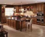 40+ Cherry Wood Kitchen Cabinets Options 211