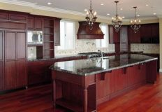40+ Cherry Wood Kitchen Cabinets Options 274