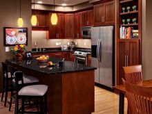 40+ Cherry Wood Kitchen Cabinets Options 49
