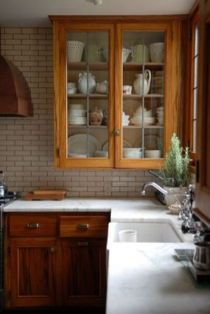 40+ Cherry Wood Kitchen Cabinets Options 77