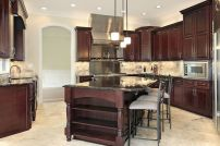 40+ Cherry Wood Kitchen Cabinets Options 79