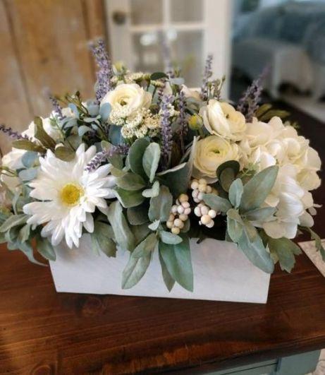 40+ Farmhouse Floral Arrangement , Ideas 235