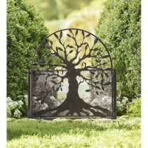 35+ Top Guide Of Metal Garden Arbor Trellis With Gate Scroll Design Arch Climbing Plants 58