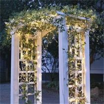 35+ Top Guide Of Metal Garden Arbor Trellis With Gate Scroll Design Arch Climbing Plants 8