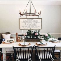37+ Instant Solutions For Farmhouse Dinning Room 110