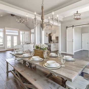37+ Instant Solutions For Farmhouse Dinning Room 139