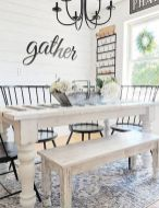 37+ Instant Solutions For Farmhouse Dinning Room 201
