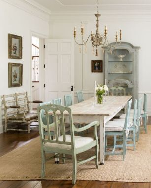 37+ Instant Solutions For Farmhouse Dinning Room 211