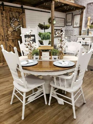 37+ Instant Solutions For Farmhouse Dinning Room 216