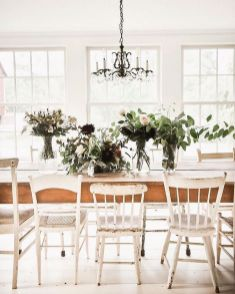 37+ Instant Solutions For Farmhouse Dinning Room 27