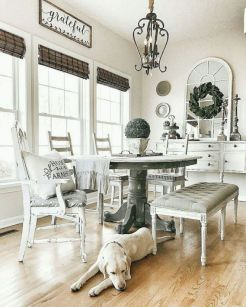 37+ Instant Solutions For Farmhouse Dinning Room 3