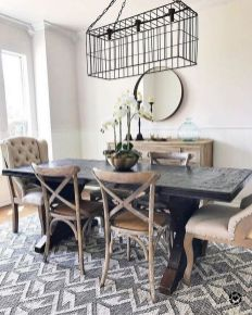 37+ Instant Solutions For Farmhouse Dinning Room 5