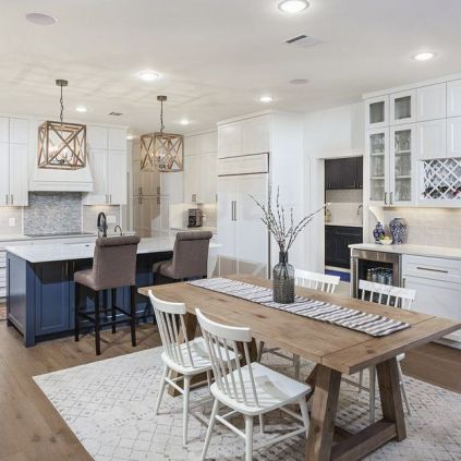 37+ Instant Solutions For Farmhouse Dinning Room 50