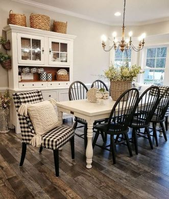 37+ Instant Solutions For Farmhouse Dinning Room 68