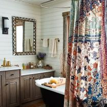 37+ Top Bathroom Drapery Ideas Secrets 401