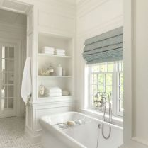 37+ Top Bathroom Drapery Ideas Secrets 66