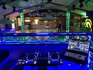 DJ Gagen im Club Hamburg