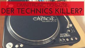 Omnitronic DD-5220L Langzeittest