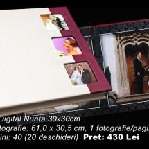 07Album Digital Nunta 15x20cm