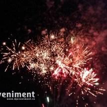 fum dansul mirilor artificii nunta
