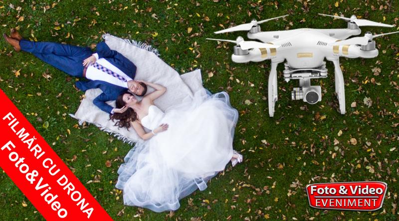 Filmari Aeriene cu Drona la Nunta si Evenimente