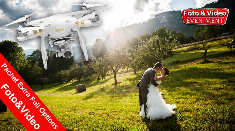 Poze Filmare Nunta cu doua Camere si Drona