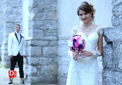 filmare si poze nunta fum dansul mirilor anina