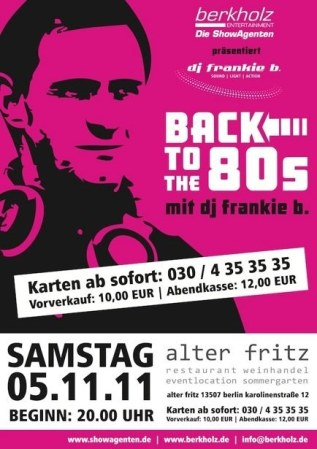 2011- 05.11. Back to the 80´s Vol.1 Alter Fritz