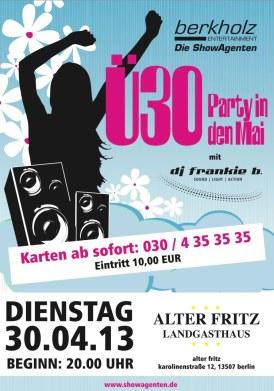 DJ frankie b. Party-Rückblicke